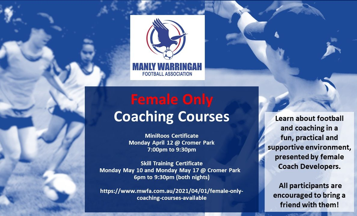 2021 Female Only Course Flyer
